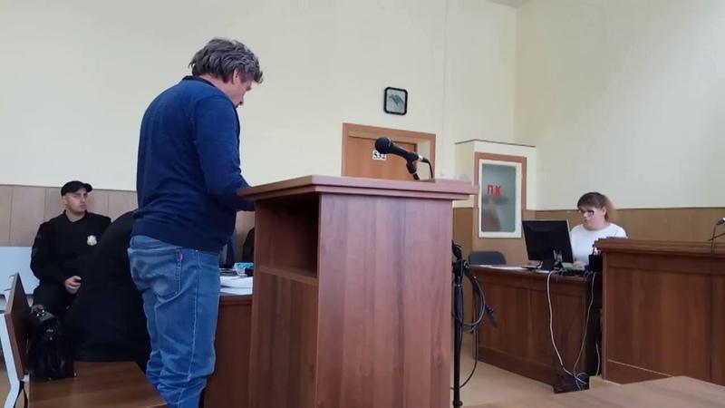 Екатеринбург. Суд над Виктором Балдиным