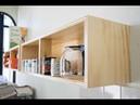 Gabinete modular de madera