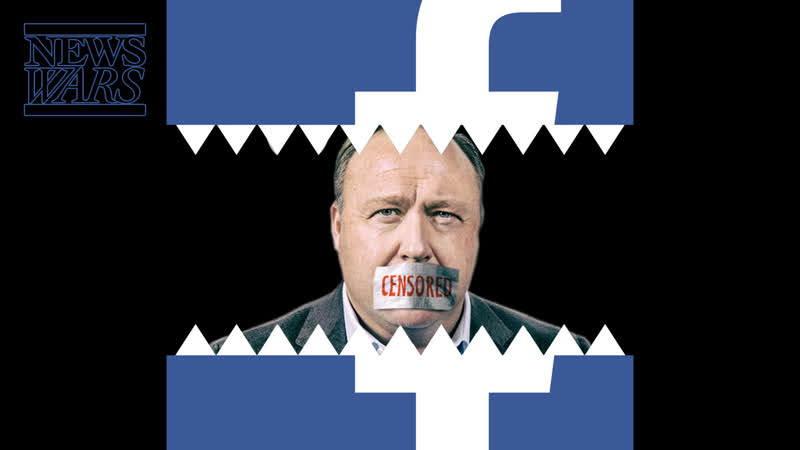 DEFAMATION: Facebook Smears Alex Jones As Anti-Semitic