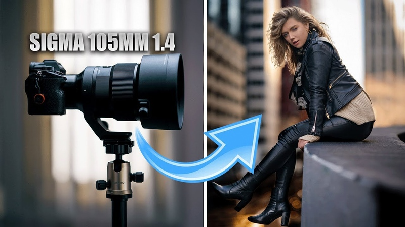 Sigma 105mm 1.4 hands on review| King of PORTRAIT LENSES