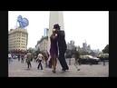 Грасиела Гамба и Диего Конверти - А.Танго у Обелиска (центр города), Буэнос-Айрес, Аргентина.
