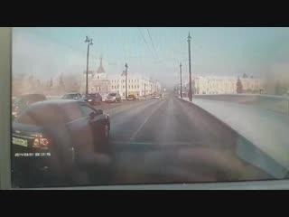 Момент аварии Ленина Омска
