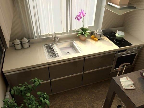 Раковина у окна - отличное решение