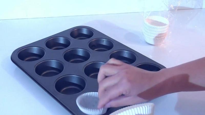 Кексы на сгущенном молоке Очень простой рецепт Cupcakes on condensed milk Ol