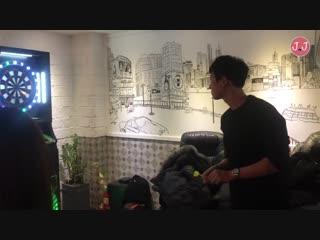 exo 찬열과 배우 현빈이랑 회식하고 왔습니다. 알함브라 궁전의 추억 종방연!