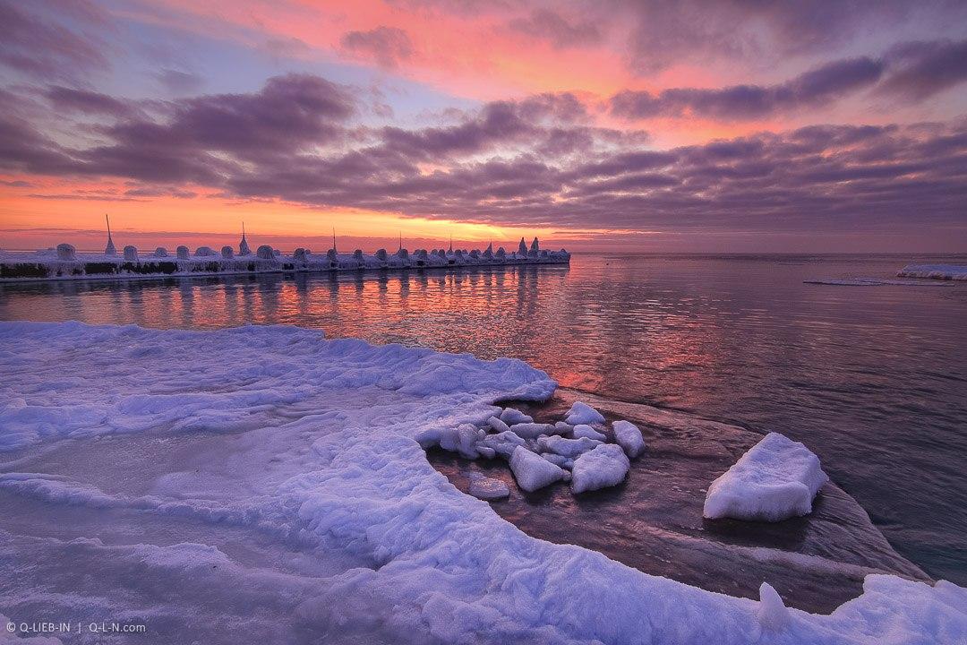 Рассвет на пляже Аркадия, Одесса