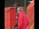 Главный тренер Манчестер Юнайтед Жозе Моуринью повздорил с полузащитником Полем Погба во время