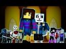 Judgement | Minecraft Undertale Music Video [GENOCIDE] (Song by TryHardNinja)