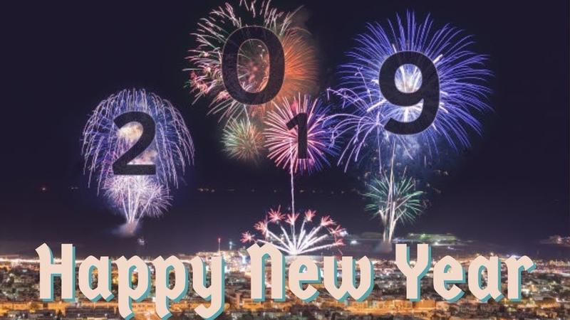 بطاقات تهنئة بالعام الجديد 2019 happy new year