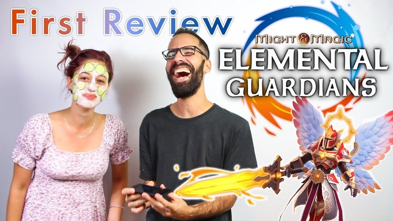 Might and Magic Elemental Guardians First Review (Engl Audio Subs)