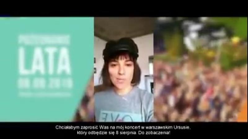 Alizee - Pożegnanie Lata 2018