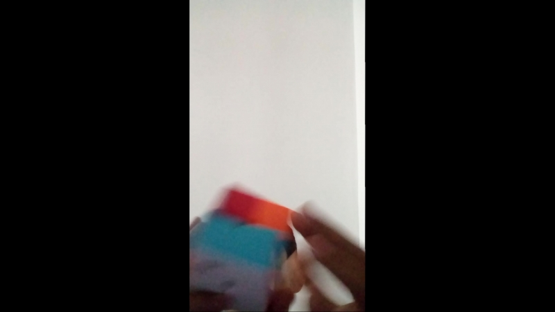 Собираю кубик рубик на скорость