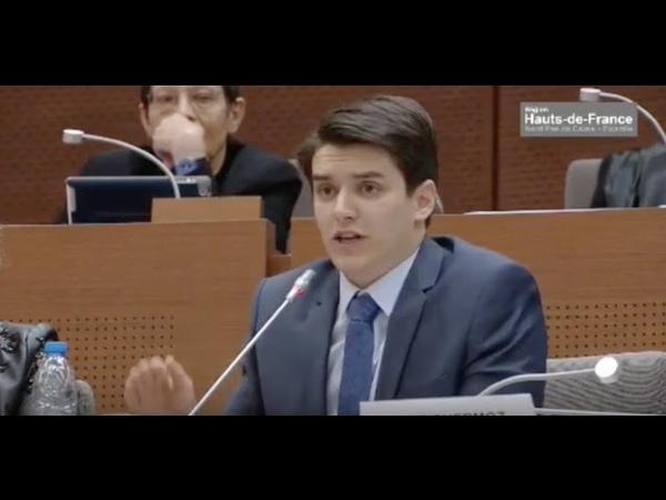 Éric Richermoz (FN) répond à l'insulte connard de Natacha Bouchart