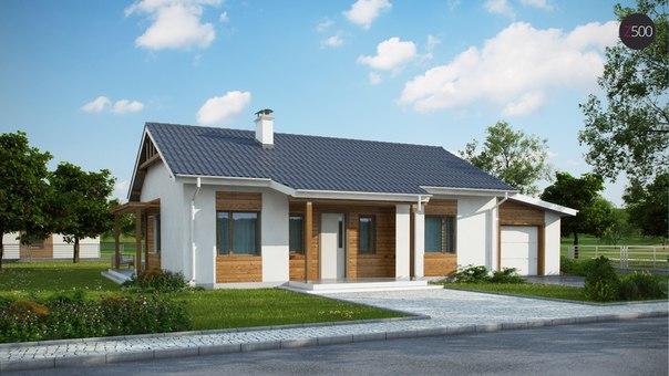 Типовой проект жилого дома z136gp.