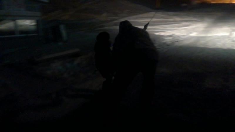 Школа сноубординга г.Братск! Бугельный подъёмник. Даниил, попытка №1 12/12/2018