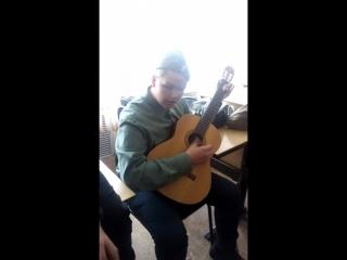 Гера исполняет песню БИ- 2