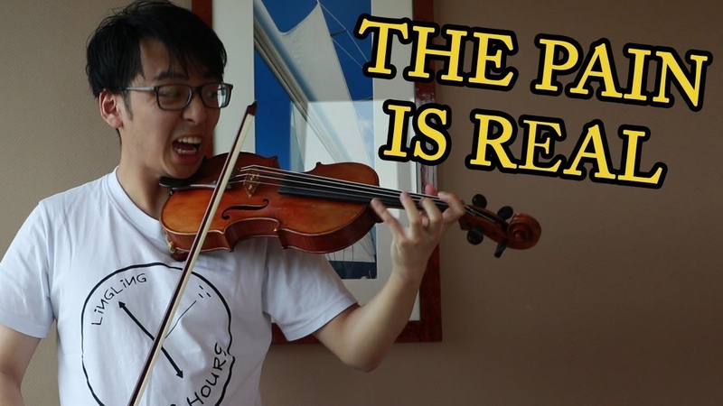 What it Feels like Practicing PAGANINI