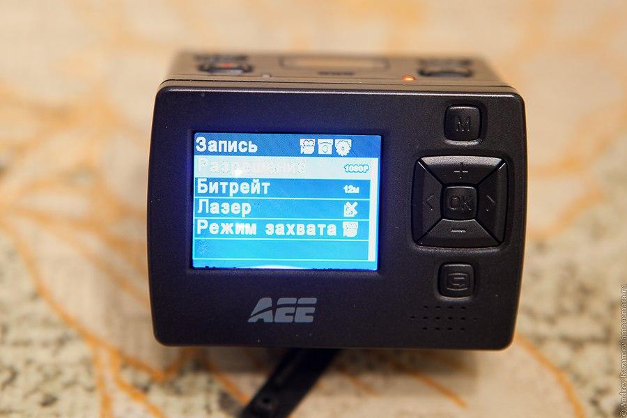 видеорегистратор AEE Blackeye XTR