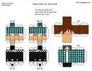 Бумажные фигурки Minecraft и заказ схем,скинов ВКонтакте.  Майнкрафт из бумаги #14 Развёртка Лололошки - YouTube.