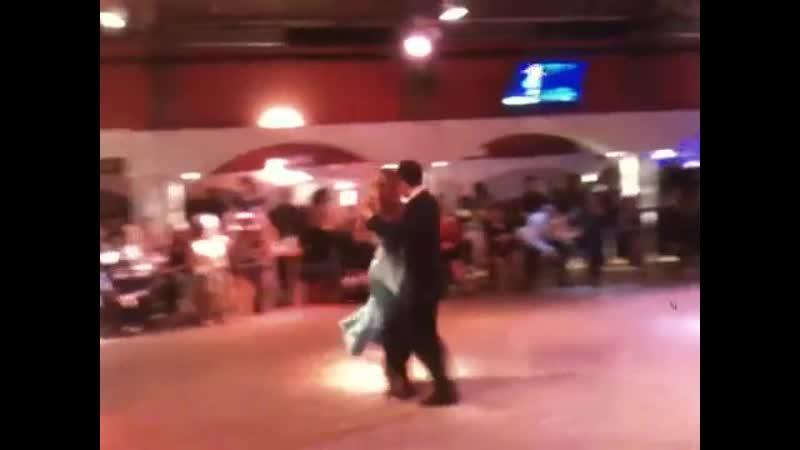 Alejandra Mantinan y Filippo Avignonesi. Tango-vals