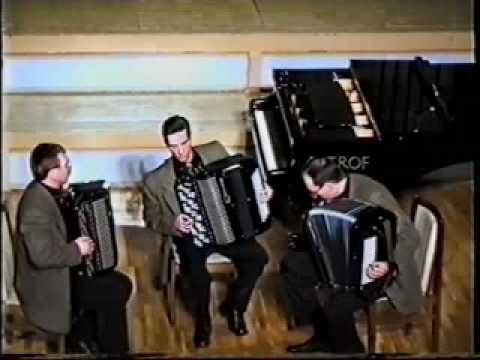 М Регер Интродукция и пассакалия ре минор, исполняет Оренбургское трио баянистов, Рига, Ave Sol, 03 2001