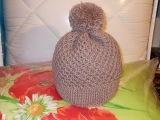 Как связать шапочку (шапку) спицами для взрослого снизу вверх