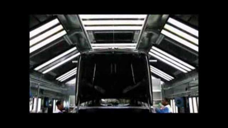 Где и как производится BMW Х5/Х6(Production Process BMW X5\X6-E70\71)
