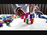 Играем в Игру TOWER COLLAPSE с Веселыми Пингвинами