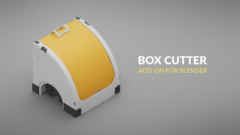 Blender Modeling Add-ons Box Cutter