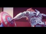 Winter Soldier vs Bucky -- bad guy wins