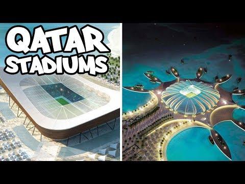 WM 2022 - Katar Das sind die geplanten Stadien (Offizieller Trailer)