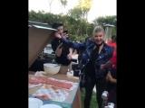 Ферги на вечеринке у DJ Khaled
