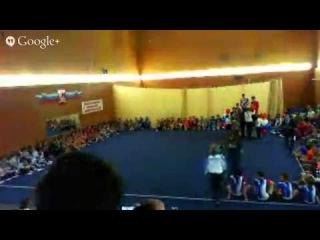 Запись трансляции Всероссийские соревнования по спортивной акробатике