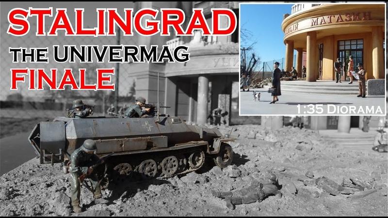 Stalingrad Diorama 1:35 Finale Teil 6 with English subtitles