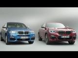 Сравнение двух поколений BMW X4