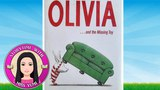 Olivia and the Missing Toy by Ian Falconer - Stories for Kids - Children's Books Read Along Aloud