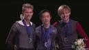 Nathan CHEN - Mens Victory Ceremony - 表彰式 - 2018 Skate America - Michal Brezina - Sergei Voronov