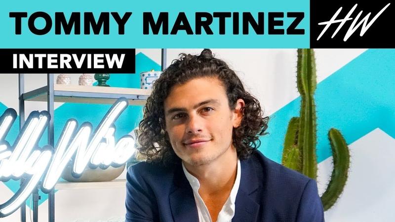 Good Troubles Tommy Martinez Talks Love Triangle with Maia Mitchell Cierra Ramirez | Hollywire