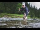 Зі спінінгом в Карпатах Со спиннингом в Карпатах Trout fishing in the Carpathian Mountains