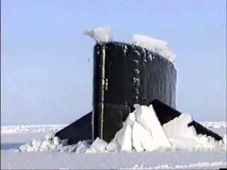 Всплытие американской подводной лодки