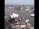 Полное опустошение в México Beach , штат Флорида 10 октября..