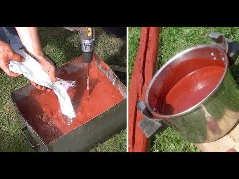 Натуральная Краска своими руками в 10 раз дешевле обычной и может служить десятки лет yfnehfkmyfz rhfcrf cdjbvb herfvb d 10 hfp