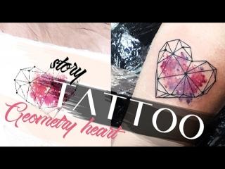 Tattoo story Geometry Heart