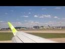 Посадка в Москве. Домодедово. Embraer 170 / S7 Airlines / BZK - DME. 16.06.2018