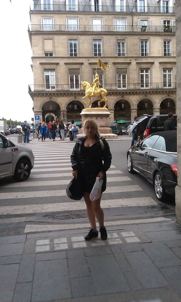 Елена Руденко. Франция. Париж. 2013 г. июнь. T1Mr0qbFTwg