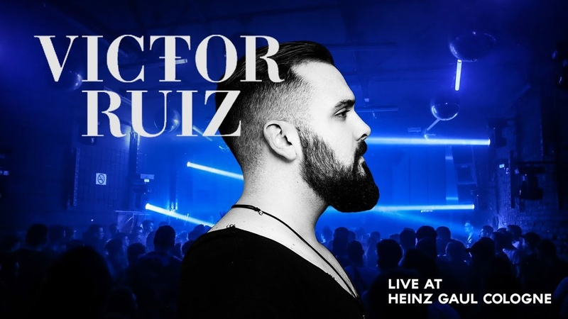 VICTOR RUIZ - Full Techno Live Set @ Heinz Gaul Cologne 2018