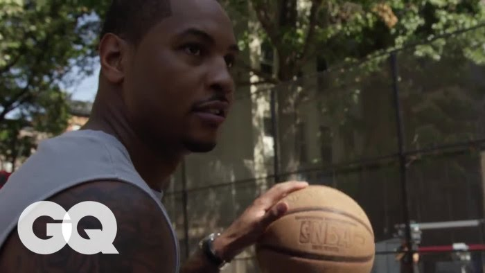 """Watch Carmelo Anthony Play Streetball at NYC's The Cage"""""""
