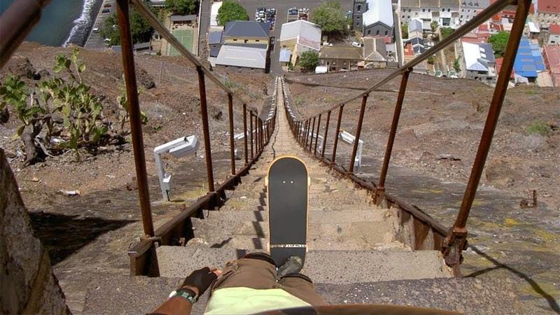 Skaters vs Extreme Downhill Skateboarding! (Wins Fails)