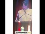 Дакота Джонсон (премия «CinemaCon Big Screen Achievement Awards»/Лас-Вегас)