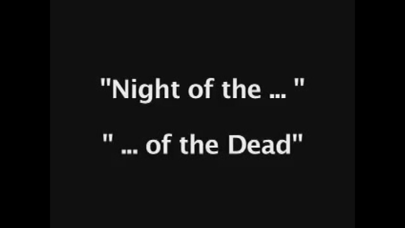 Monster Madness s1e15 Night Of The Living Dead rus